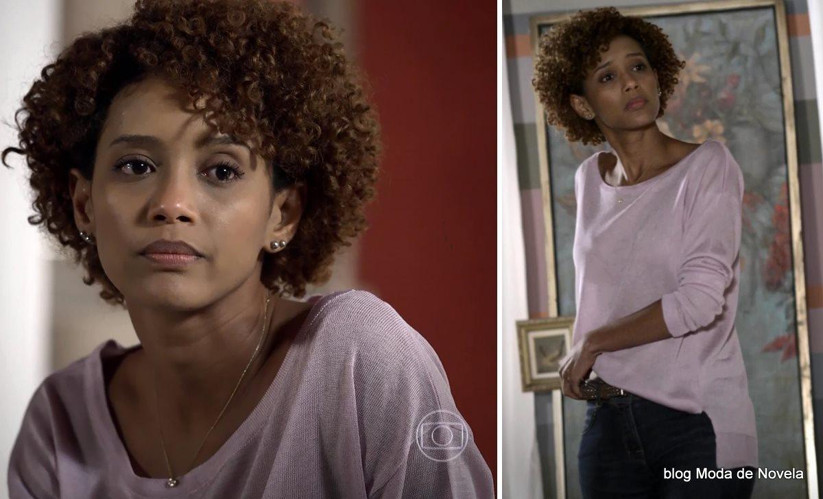 moda da novela Geração Brasil - look da Verônica dia 4 de junho