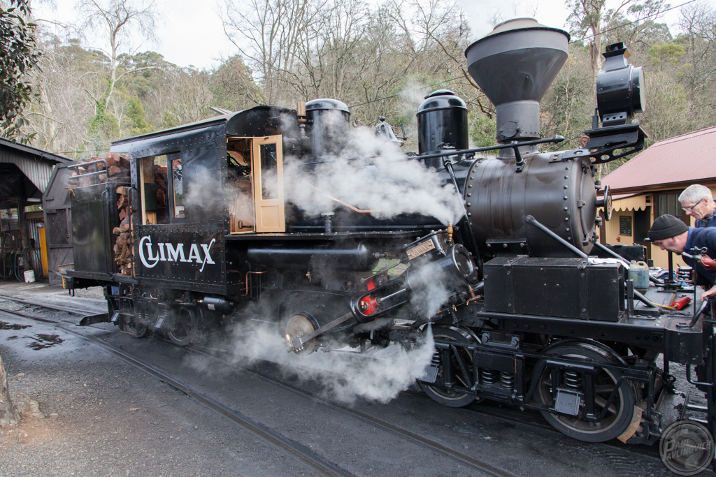 Climax 1694 at Belgrave