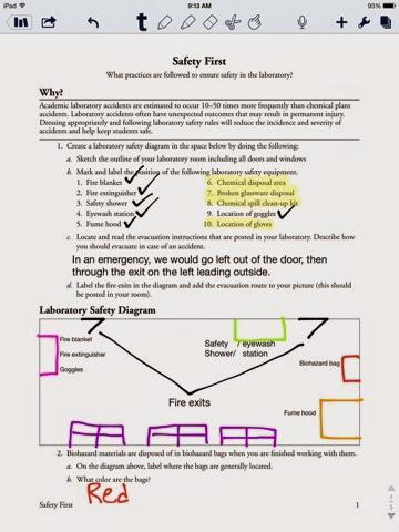 dawson ruhl 39 s chemistry blog safety pogil. Black Bedroom Furniture Sets. Home Design Ideas