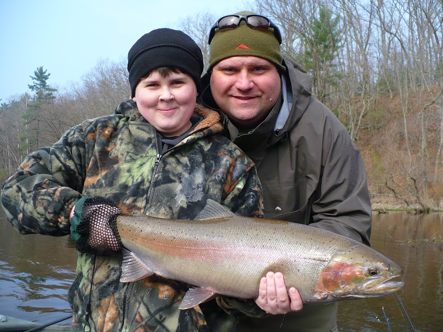 Muskegon River Guided Fishing Trips
