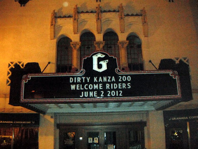 Granada Theater at Dirty Kanza