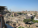 Looking towards the Campidoglio from the Palatine Hill