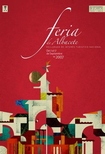 Cartel Feria Albacete 2007