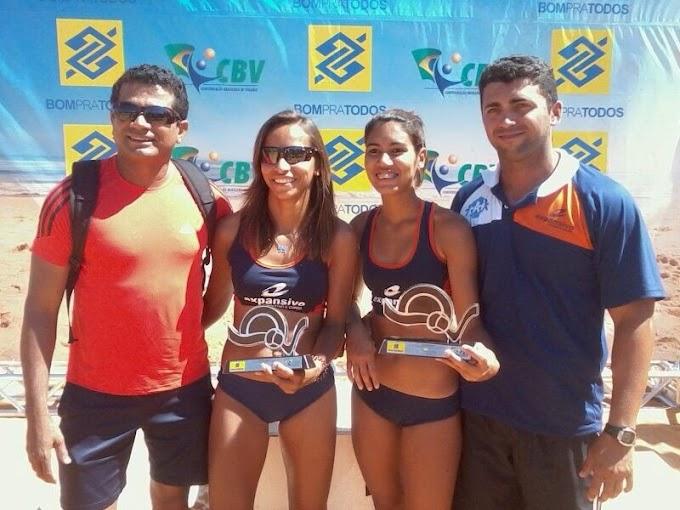 Atletas do RN lideram o ranking nacional de Vôlei de Praia