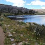 On the Dam wall of Rainbow Lake (97132)