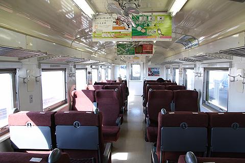 JR北海道 花咲線 キハ54 522 ルパン三世ラッピングトレイン 車内