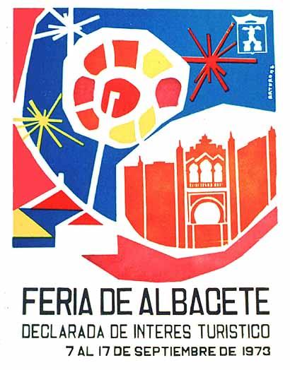Cartel Feria Albacete 1973
