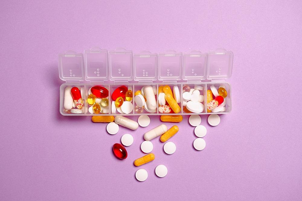 Verschiedene Vitamin-Präparate