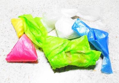 ถุงพลาสติกเหลือใช้