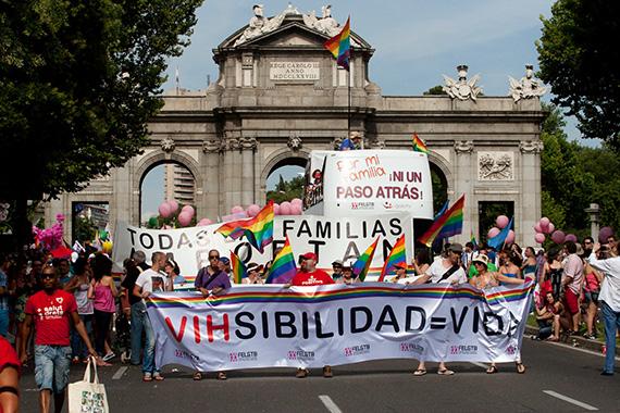 El desfile del Orgullo Gay