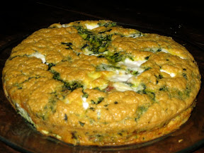Bacon Spinach Frittata