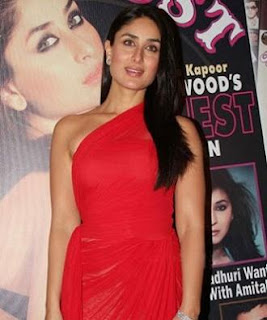Bollywood Bebo Kareena Kapoor Sexiest Diva Honored by Stardust Magazine