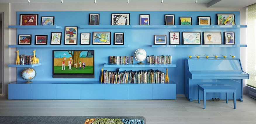 incorporated architecture design benroth rolston stuart Bohemian Apartment Blue Piano Wall.jpg