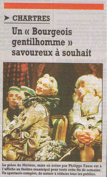 Article / Le Bourgeois gentilhomme