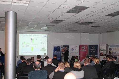 Prezentacja pojazdów użytkowych CNG i LNG marki Iveco
