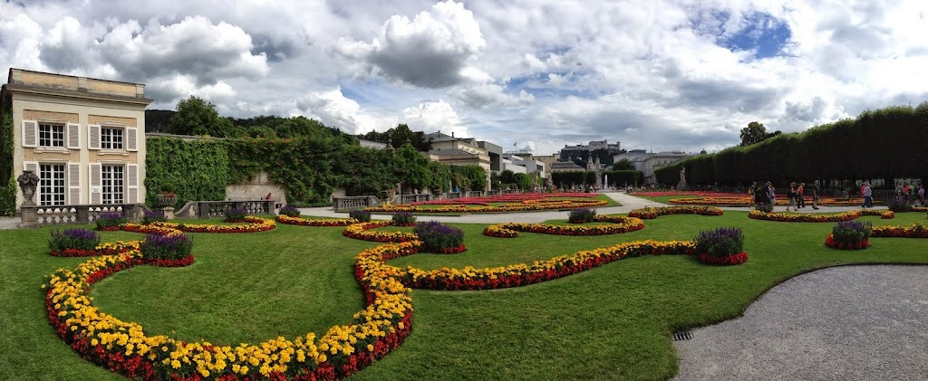 Mirabell Gardens, Salzburg. Todd Felton: #WorkAbroadBecause you will never be the same