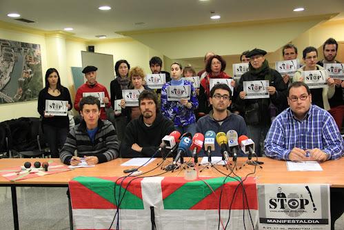 Indarkeria polizialaren aurkako manifestazioa deitu dute
