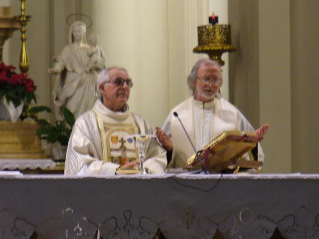 P. Gino Pizzuto e p. Italo Padovan