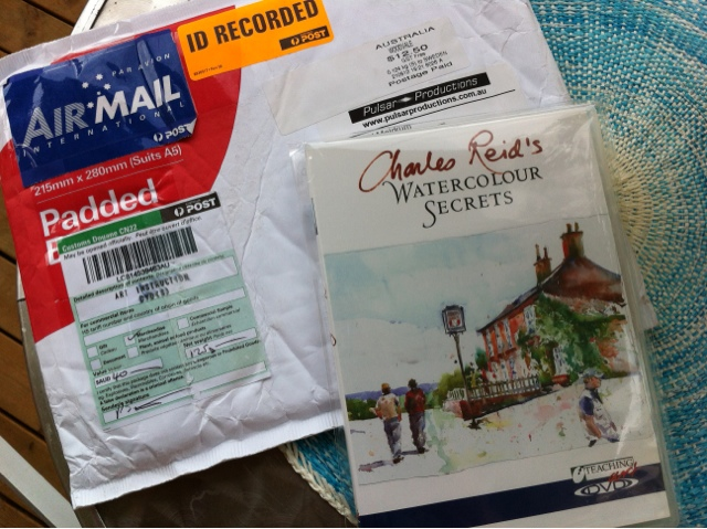 Posted DVD of Charles Reid Watercolour Secrets