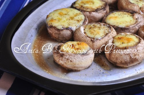 Recipe With Pictures Gorgonzola Stuffed Mushrooms Quick