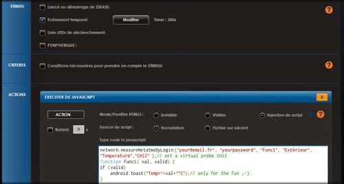 il est maintenant possible daccder une page web xml ou json pour aller dcoder des informations cel permet dinterfacer facilement la zibase multi