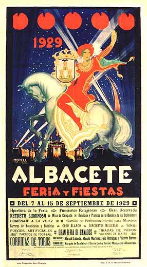 Cartel Feria Albacete 1929