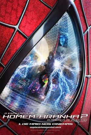Filme Poster O Espetacular Homem-Aranha 2 - A Ameaça de Electro TS VERSÃO 2 XviD Dual Audio & RMVB Dublado