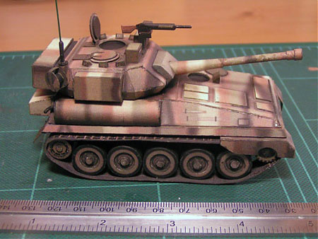 FV101 Scorpion Tank Papercraft