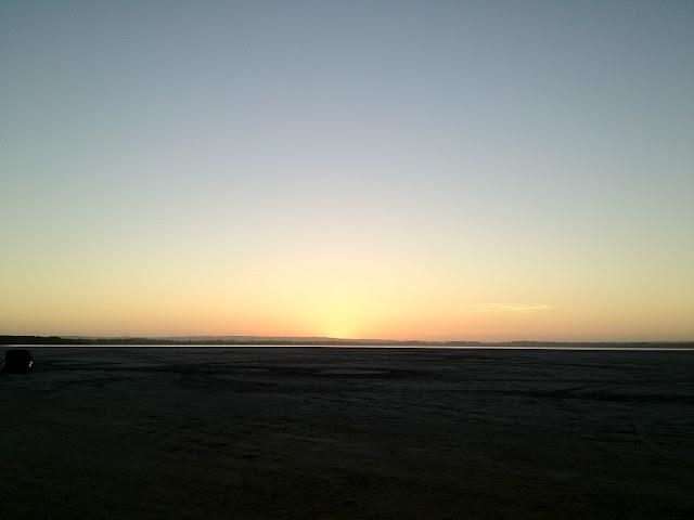 日落後第一秒