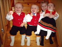 Barnebarna er livets søte dessert!