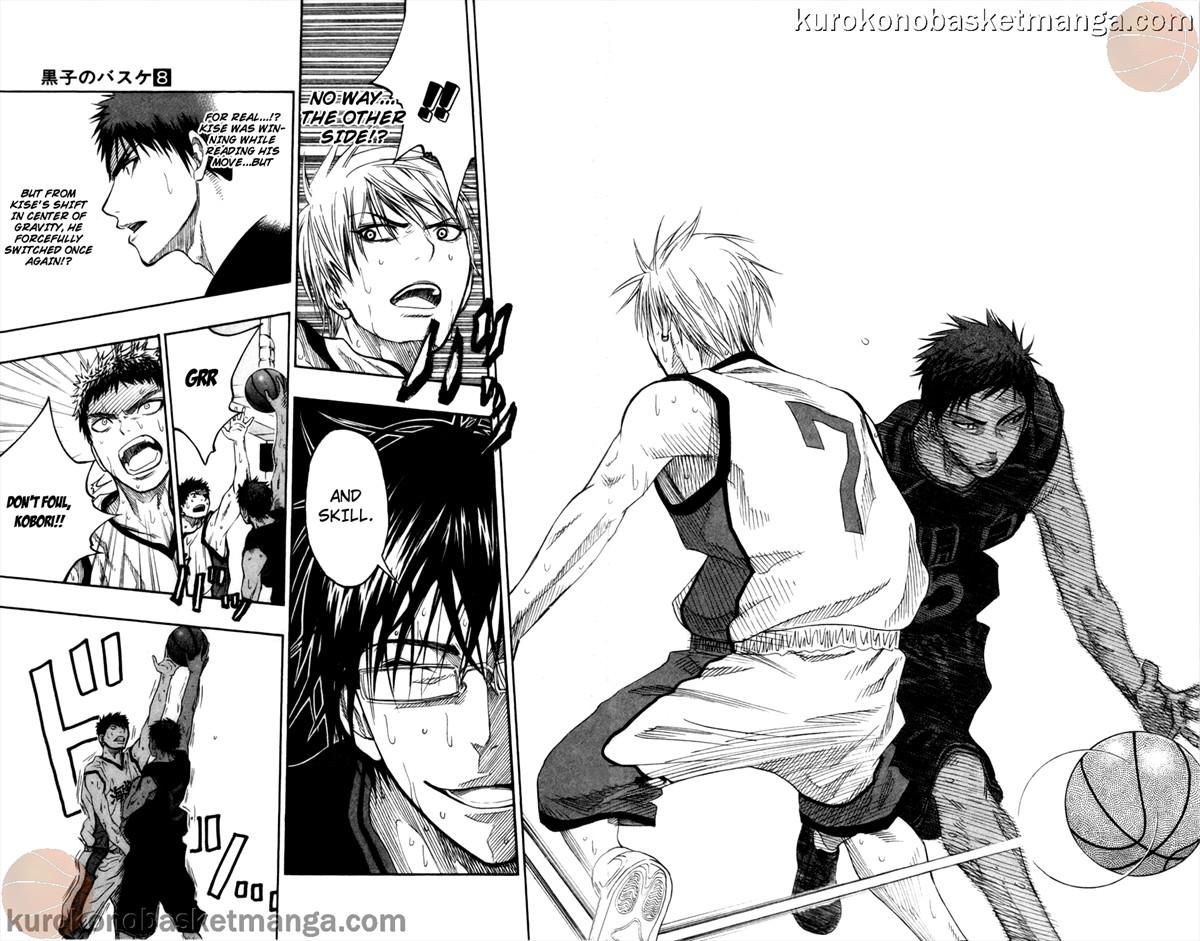 Kuroko no Basket Manga Chapter 66 - Image 12