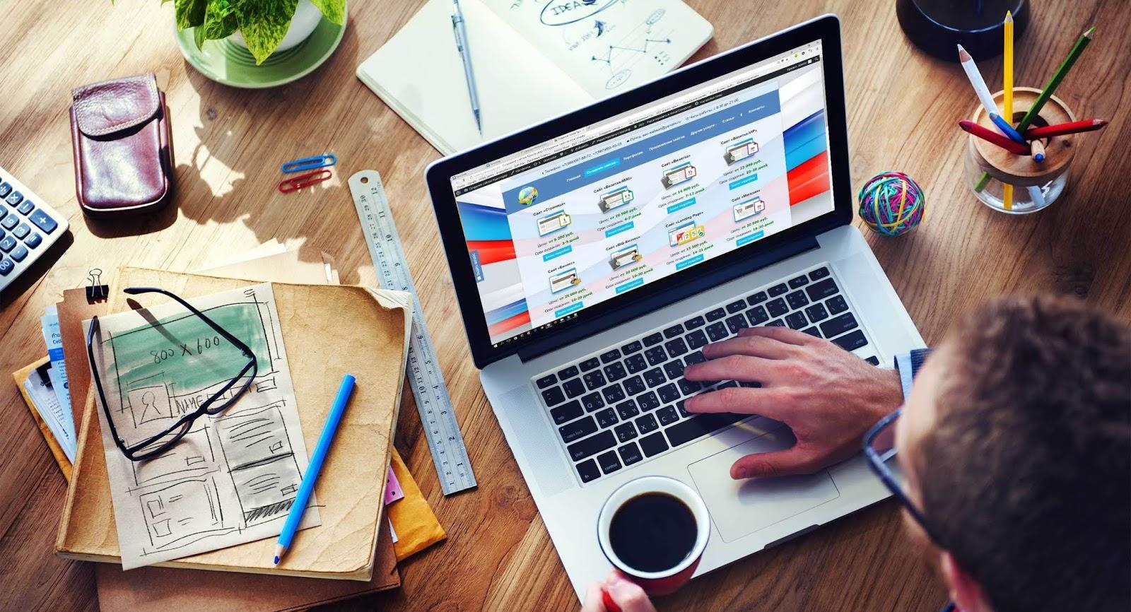 Как сделать сайт для общественной организации, школы, детского сада или заказать сайт для оказания услуг?