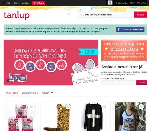 vender pela internet - Tanlup