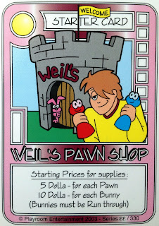 Weil\'s Pawn Shop - Killer Bunnies Quick Reference