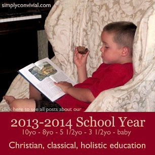 relaxed classical holistic homeschool plans