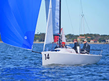 J/70 Scamp- sailing with Henry Brauer