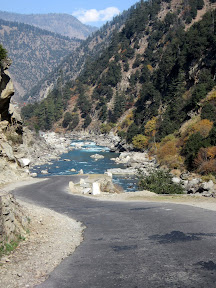 Neelum valley Road, Azad Kashmir
