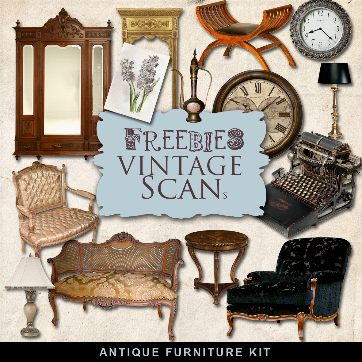 freebies antique furniture kit far far hill free
