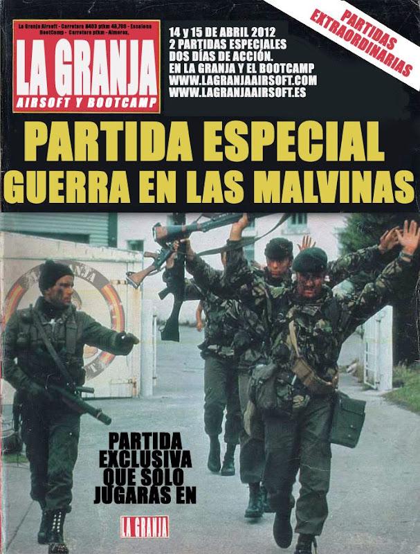 14 y 15/04/12 The Falklands War / La Guerra de las Malvinas / Partidas Especiales Cartelargentino