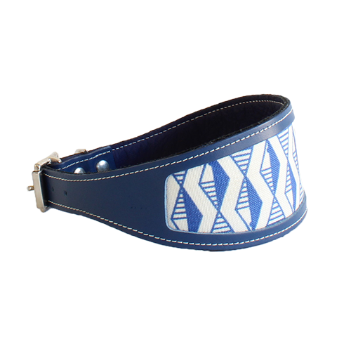Designer greyhound and whippet dog collars