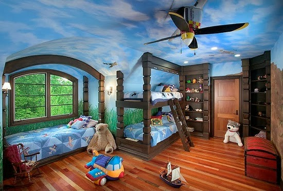 Airplane Ceiling Fans For Children s Bedroom