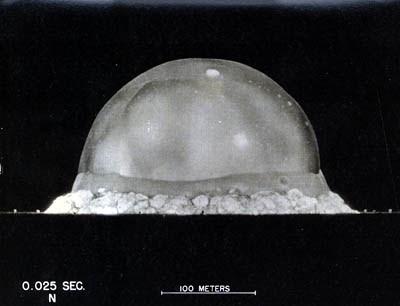 1945 - trinity explosion