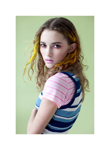 Preppy pastel Girl (Material Girl - march 2012)