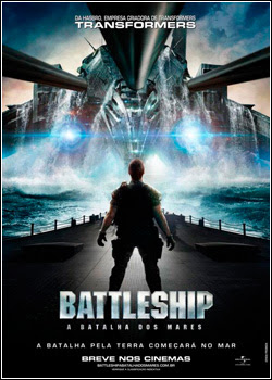 Filme Poster Battleship – A Batalha dos Mares TS XviD Dual Audio & RMVB Dublado
