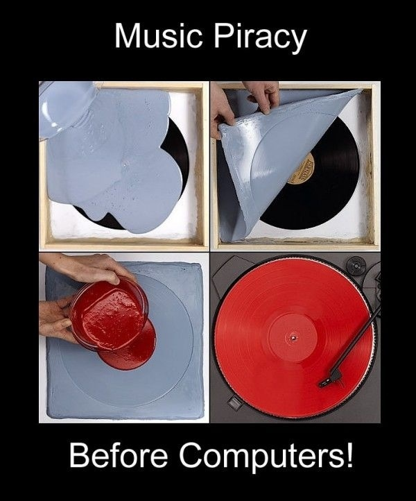 Music Piracy, Before Computers
