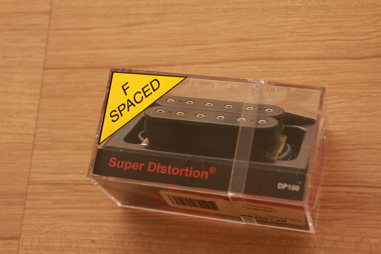 CRINSON MUSIC AND GUITARS: DiMarzio Super Distortion DP100