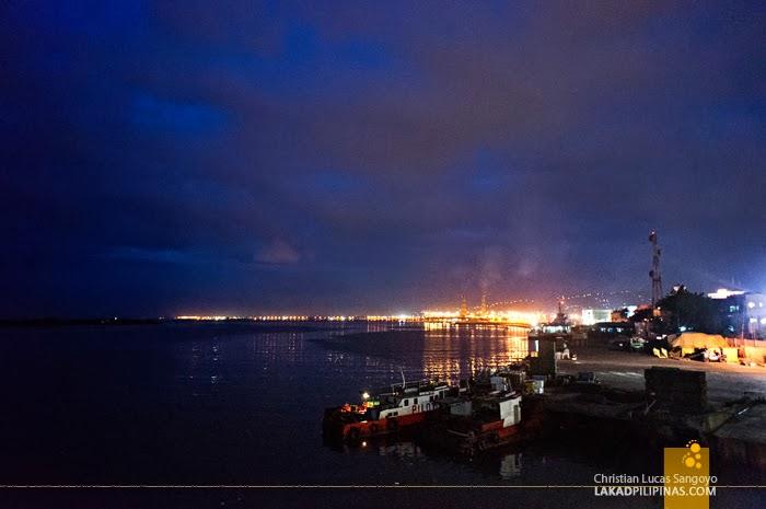 Blue Hour at Cebu City's Port