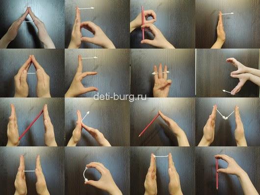 Алфавит - пальчиковая гимнастика