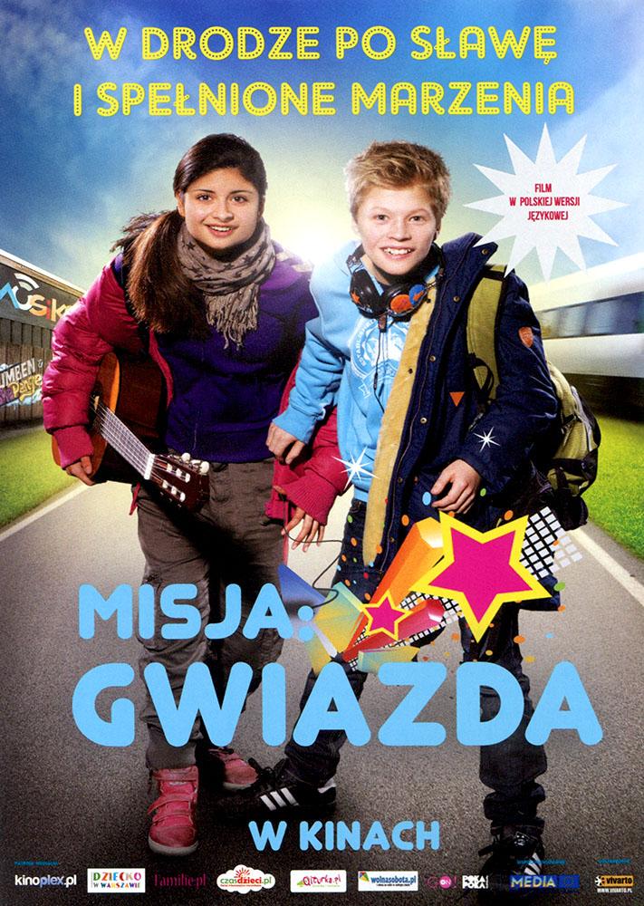 Ulotka filmu 'Misja: Gwiazda (przód)'