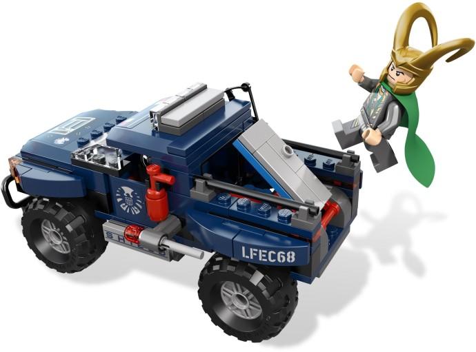 レゴ スーパー・ヒーローズ ロキのコズミックキューブからの脱出 6867